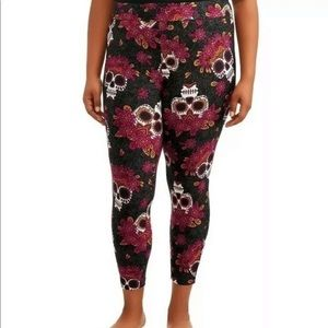 Terra & Sky 4X 28-30 Skull leggings New